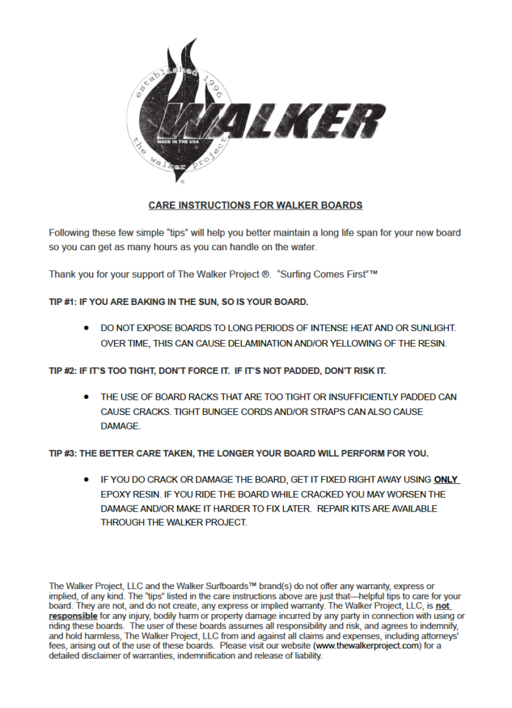 The Walker Project